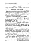 """Quản lý di sản """"Thực hành tín ngưỡng thờ Mẫu Tam phủ"""" trên địa bàn Hà Nội hiện nay"""