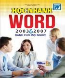 Phần 2: Tự học Word 2003 và 2007