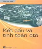 Phần 1: Tính toán kết cấu ô tô