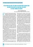 Hồ Chí Minh với việc xây dựng con người mới ở Quảng Bình qua một số bài viết, lời căn dặn, thư khen và phần thưởng của Người