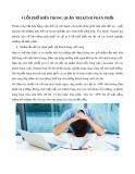 9 lỗi phổ biến trong quản trị kênh phân phối