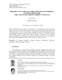 Individual cultural factors affecting new product accepting behavior: The case of electronic market in Vietnam