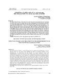 Ảnh hưởng của điều kiện xử lý axít stearic đến tính kỵ nước của màng ZnO trên gỗ Bồ đề