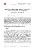 Khái quát tình hình phát triển và ứng dụng lý thuyết đánh giá trong nghiên cứu ngôn ngữ ở Trung Quốc