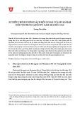 Sự điều chỉnh chính sách đối ngoại của Myanmar đối với Trung Quốc từ năm 2011 đến nay