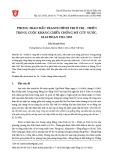 Phong trào đấu tranh chính trị ở Trị - Thiên trong cuộc kháng chiến chống Mỹ cứu nước, giai đoạn 1963-1965