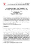 EFL teachers' perceptions and practices regarding learner autonomy at Dong Thap University, Vietnam