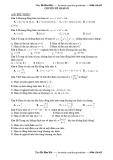 Bài tập trắc nghiệm Chuyên đề Hàm số - Hà Hữu Hải