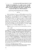 Nghiên cứu ảnh hưởng của thời vụ gieo cấy đến khả năng nhân dòng lúa bất dục đực di truyền nhân cảm ứng nhiệt độ S tím trong vụ Đông Xuân tại huyện Thọ Xuân, tỉnh Thanh Hoá
