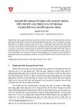 Giải huyền thoại về nhân vật lịch sử trong tiểu thuyết giàn thiêu của Võ Thị Hảo và hội thề của Nguyễn Quang Thân