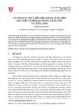Các phương thức biểu hiện hành vi xin phép gián tiếp và hồi đáp trong tiếng Việt và tiếng Anh