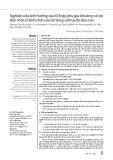 Nghiên cứu ảnh hưởng của tổ hợp phụ gia khoáng và sợi đến một số tính chất của bê tông cường độ siêu cao