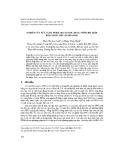 Nghiên cứu xử lí axit perflooctanoic (PFOA) nồng độ thấp bằng sóng siêu âm hóa học