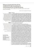 Mối quan hệ giữa biến thiên độ ẩm với biến đổi các đặc trưng kháng cắt và khối lượng thể tích của đất phong hóa