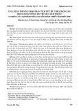 Ứng dụng phương pháp phân tích dữ liệu theo thời gian trong hoạt động dự trù mua sắm thuốc: Nghiên cứu tại Bệnh viện Nguyễn Đình Chiểu tỉnh Bến Tre