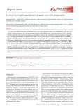 Kinetics of neutrophil engraftment in allogeneic stem cell transplantation