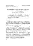 Phương pháp thống kê mômen trong nghiên cứu chuyển pha cấu trúc của kim loại dưới tác dụng của áp suất