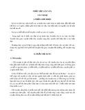 Đề cương Tập làm văn - Văn tự sự cấp Tiểu học