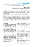 Nghiên cứu dòng thấm không ổn định trong bờ sông: Các lời giải giải tích và toán số