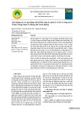 Ảnh hưởng của các hoạt động sinh kế đến công tác quản lý và bảo vệ rừng tại xã Thanh Tương, huyện Na Hang, tỉnh Tuyên Quang