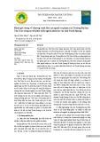 Đánh giá chung về chương trình đào tạo ngành sư phạm của Trường Đại học Tân Trào trong xu thế phát triển nguồn nhân lực của tỉnh Tuyên Quang