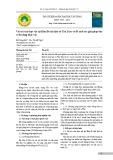 Vai trò của thực vật tại Khu Di tích lịch sử Tân Trào và đề xuất các giải pháp bảo vệ đa dạng thực vật