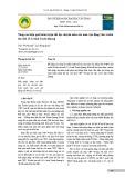 Nâng cao hiệu quả huấn luyện thể lực chuyên môn của nam vận động viên wushu lứa tuổi 13-14 tỉnh Tuyên Quang