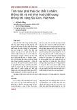 Tính toán phát thải các chất ô nhiễm không khí và mô hình hoá chất lượng không khí cảng Sài Gòn, Việt Nam