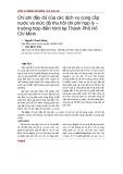 Chi phí đầy đủ của các dịch vụ cung cấp nước và mức độ thu hồi chi phí hợp lý – trường hợp điển hình tại Thành Phố Hồ Chí Minh