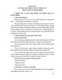 Tài liệu bồi dưỡng ngạch cán sự - Chuyên đề 13: Kỹ năng thu thập và xử lý thông tin trong quản lý hành chính