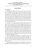 Sáng kiến kinh nghiệm: Phương pháp tìm các chữ số tận cùng của một luỹ thừa trong chương trình toán 6