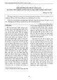 Đổi mới phương pháp giảng dạy kỹ năng viết tiếng Anh ở trung học phổ thông Việt Nam