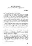 Sắc thái Chăm trong văn hóa Việt Nam
