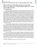 Hợp tác khoa học với hệ thống đại học Cộng hòa Pháp nhu cầu và triển vọng (Từ kinh nghiệm nghiên cứu và đào tạo của Khoa Văn học)