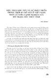 Mậu dịch khu vực và sự phát triển trong thời kỳ đồ sắt ở Việt Nam: Nhìn từ khía cạnh nghiên cứu đồ trang sức thủy tinh