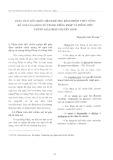 Phân tích đối chiếu mệnh đề phụ đảm nhiệm chức năng bổ ngữ của động từ trong tiếng Pháp và Tiếng Việt những giải pháp chuyển dịch
