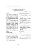 Ẩn dụ trong ngôn ngữ kinh tế (Qua cứ liệu Tiếng Anh)