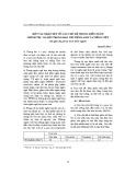 Một vài nhận xét về câu chủ đề trong diễn ngôn Chính trị - Xã hội trong báo chí Tiếng Anh và Tiếng Việt (Từ góc độ phân tích diễn ngôn)