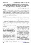Tràn dịch màng phổi dưỡng trấp tự phát kháng trị được điều trị bằng Bleomycine tại khoa hồi sức sơ sinh Bệnh viện Nhi Đồng 1: Nhân một trường hợp