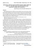 Hội chứng thận hư nhũ nhi: Điều trị hoặc không điều trị thuốc ức chế miễn dịch: Nhân bốn trường hợp lâm sàng tại Bệnh viện Nhi đồng 1