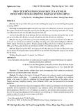 Phân tích đồng phân quang học của atenolol trong viên nén bằng phương pháp sắc ký lỏng (HPLC)