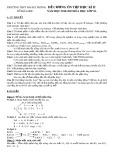 Đề cương ôn tập học kì II môn Hóa học lớp 10 năm học 2018-2019 - Trường THPT Hai Bà Trưng