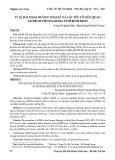 Tỷ lệ đái tháo đường thai kỳ và các yếu tố liên quan tại Bệnh viện Đa khoa tỉnh Bình Định