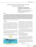 Mô phỏng một số quá trình phong hóa dầu trong môi trường biển