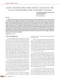Quản lý người đại diện: Những vấn đề lý luận và thực tiễn tại các tập đoàn/Tổng công ty nhà nước ở Việt Nam