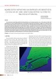 Nghiên cứu tích hợp mô hình lan truyền dầu vào bản đồ số 3D cho khu vực khí - điện - đạm Cà Mau để phục vụ công tác ứng phó sự cố tràn dầu