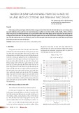 Nghiên cứu đánh giá khả năng thành tạo và mức độ sa lắng muối vô cơ trong quá trình khai thác dầu khí