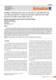 Nghiên cứu ảnh hưởng của các thông số vận hành nứt vỉa tới dẫn suất khe nứt và khối lượng hạt chèn khi thực hiện bơm nứt vỉa tầng Oligocene chặt sít