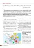 Nghiên cứu quy hoạch tổng thể các mỏ dầu khí bể Cửu Long
