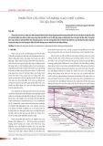 Phân tích cấu trúc và nâng cao chất lượng tài liệu địa chấn